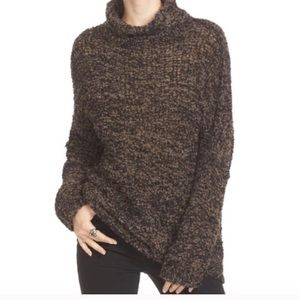 Free People Shes All That Knit Turtleneck Sweater